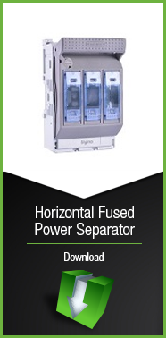 Horizontal Fused Power Separator